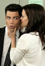 Max Greenfield and Carla Gugino | Photo Credits: Patrick McElhenney/FOX