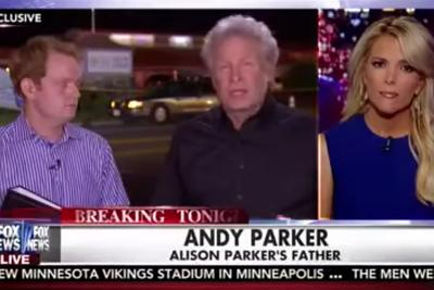 Virginia shooting victim's father makes emotional plea for gun control on Fox News