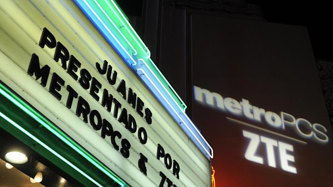 Atmosphere at a private concert presented by tour sponsors MetroPCS & ZTE, on Monday, February, 11, 2013 at the El Rey Theatre in Los Angeles. (Photo by Chris Pizzello/Invision for MetroPCS/AP Images)