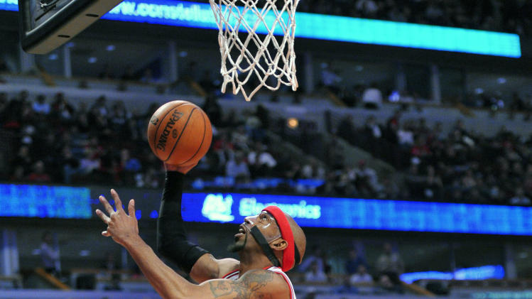 NBA: Charlotte Bobcats at Chicago Bulls