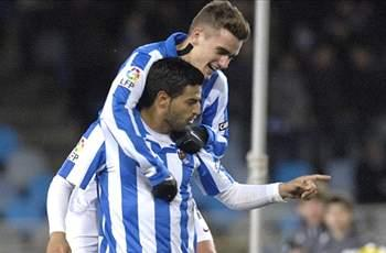Vela sets new career high with 13th goal for Real Sociedad