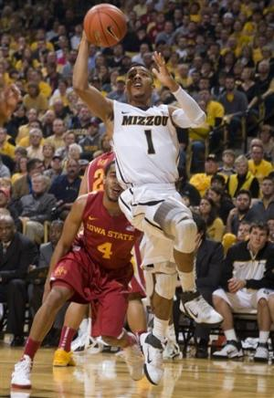 No. 7 Missouri beats Iowa State 78-72