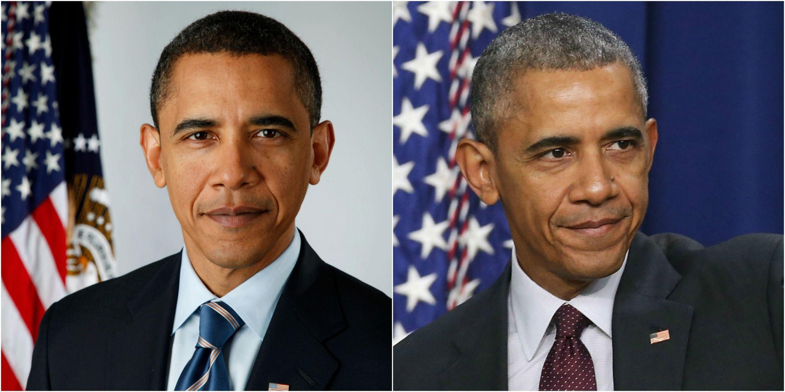 14 Photos of U.S. Presidents Before and After the White House