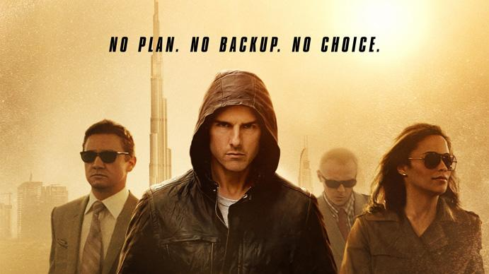 Paramount Pictures 2011 Mission Impossible Ghost Protocol