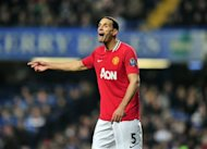 Manchester United defender Rio Ferdinand, seen here in February, admits he is resigned to the fact that his international career is over following his controversial omission from England's Euro 2012 squad