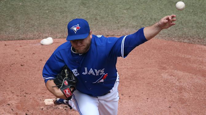 June 14: Blue Jays 8, Rangers 0