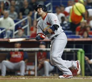 Cards win 5th straight, 5-2 over slumping Marlins