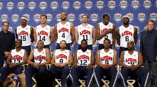 Much to replace for US basketball team to top '08