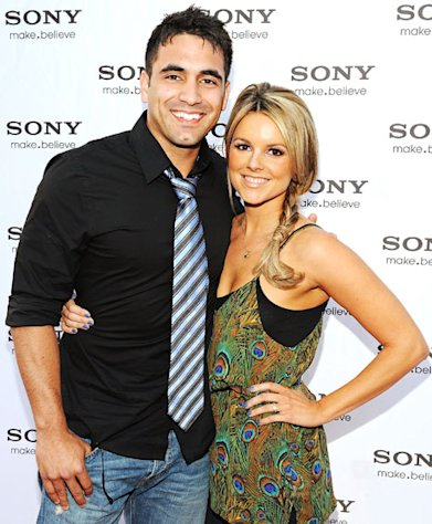 Ali Fedotowsky and Roberto Martinez Hooked Up at Ashley Hebert's Wedding to J.P. Rosenbaum!