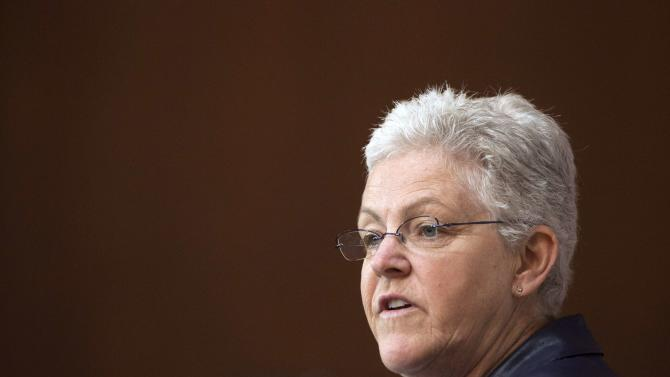 File photo of EPA Administrator Gina McCarthy announcing steps to cut carbon pollution in Washington