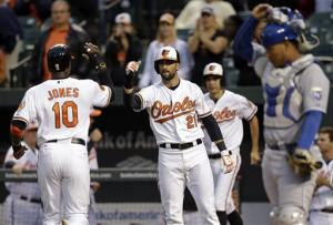 Wieters carries Orioles over Royals 4-3