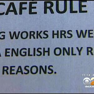Exclusive: Unions Blast LAUSD For Telling Cafeteria Workers To Speak Only English