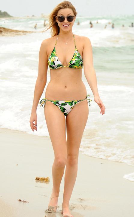 Celebrities in bikinis: Reality star Whitney Port shows off her bod in Miami