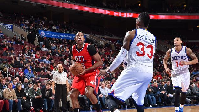 Hawks storm past 76ers 105-87 for 9th straight win