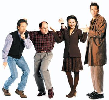 "Jerry Seinfeld, Jason Alexander, <a href=""/baselineperson/3901827"">Julia Louis-Dreyfus</a> and Michael Richards NBC's Seinfeld"