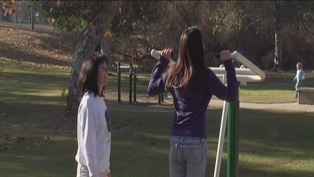 City Offers Gym Equipment At Local Park