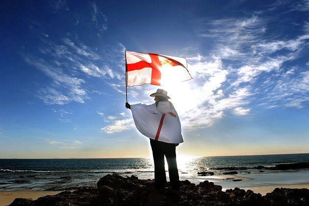 David Cameron has wished the country a happy St George&#39;s Day
