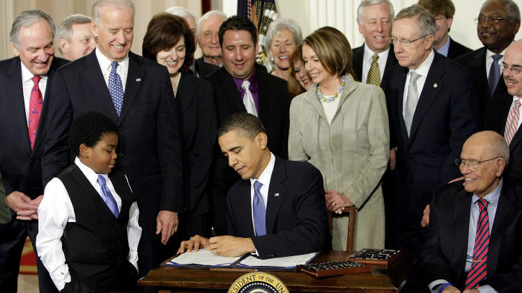 Obama's health care law: A trek, not a sprint