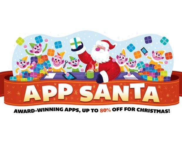 iOS productivity apps discounted in App Santa promotion