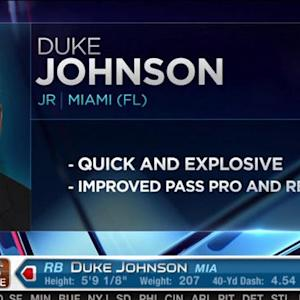 Cleveland Browns pick running back Duke Johnson No. 77 in the 2015 NFL Draft