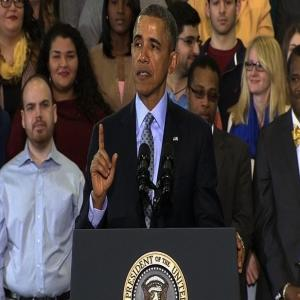 Obama Pushes for Higher Minimum Wage