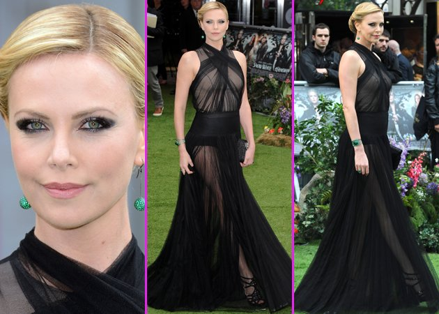 charlize theron SWATH premiere