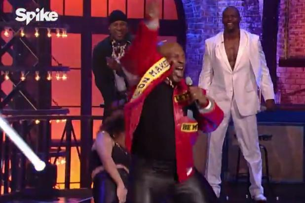 Mike Tyson 'Lip Sync Battle' Features Fist Pumping, Air Humping in 'Push It' Performance (Video)