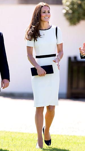 Kate Middleton Sports New Nautical Dress for Maritime Museum Visit: Details on Her Outfit