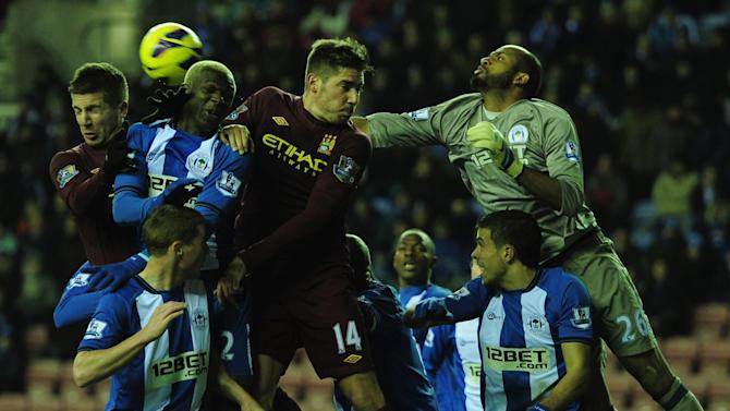 Wigan Athletic v Manchester City - Premier League