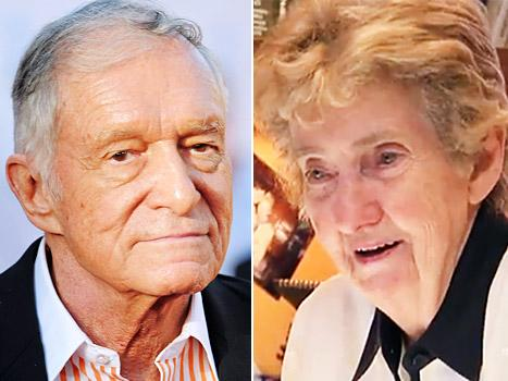 "Hugh Hefner Is ""Devastated"" Over Longtime Secretary Mary O'Connor's Death"