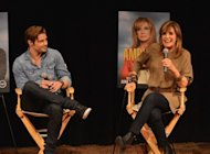 "Actors Josh Henderson and Linda Gray answer fan questions during TNT's Dallas screening and cast appearance at the Country Music Hall of Fame and Museum at the CMA Music Festival on June 9 in Nashville, Tennessee. Prime-time soap ""Dallas"" roared back onto US television screens this week with 6.86 million viewers watching the season premiere despite mixed reviews for the reboot"