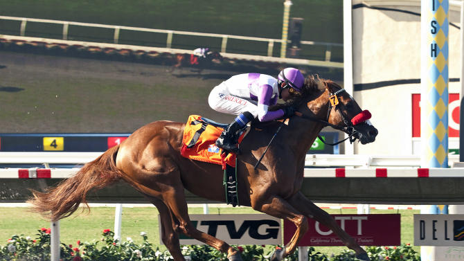 Wake Up Nick wins Graduation Stakes at Del Mar