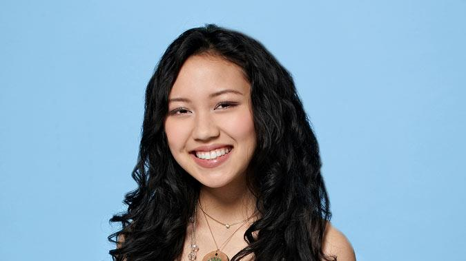 "Thia Megia, 16, from Hayward, CA competes on the tenth season of ""American Idol."""