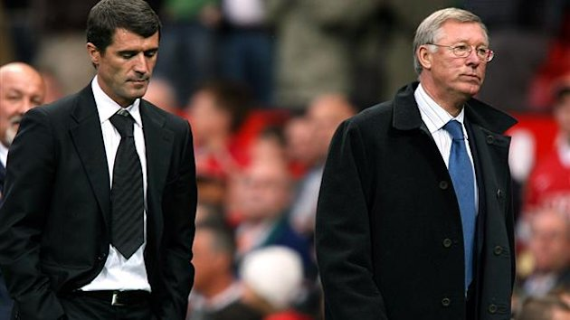 Roy Keane and Sir Alex Ferguson (PA Photos)