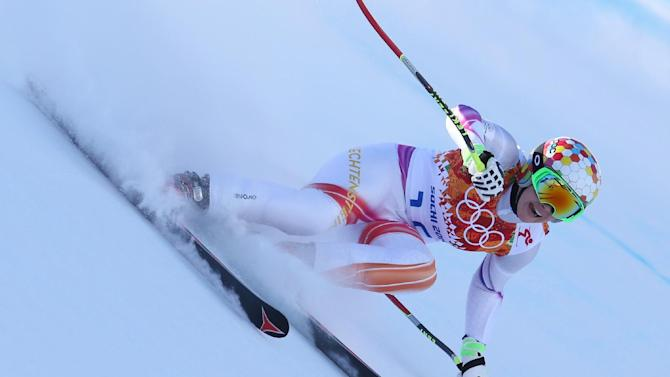Weirather injured before Olympic women's downhill