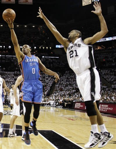 Rolling Thunder put Spurs' season on the brink