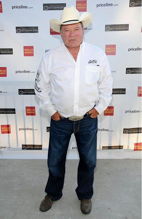 William Shatner arrives at the 20th Annual William Shatner's Priceline.com Hollywood Charity Horse Show on May 1, 2010 in Burbank, California.