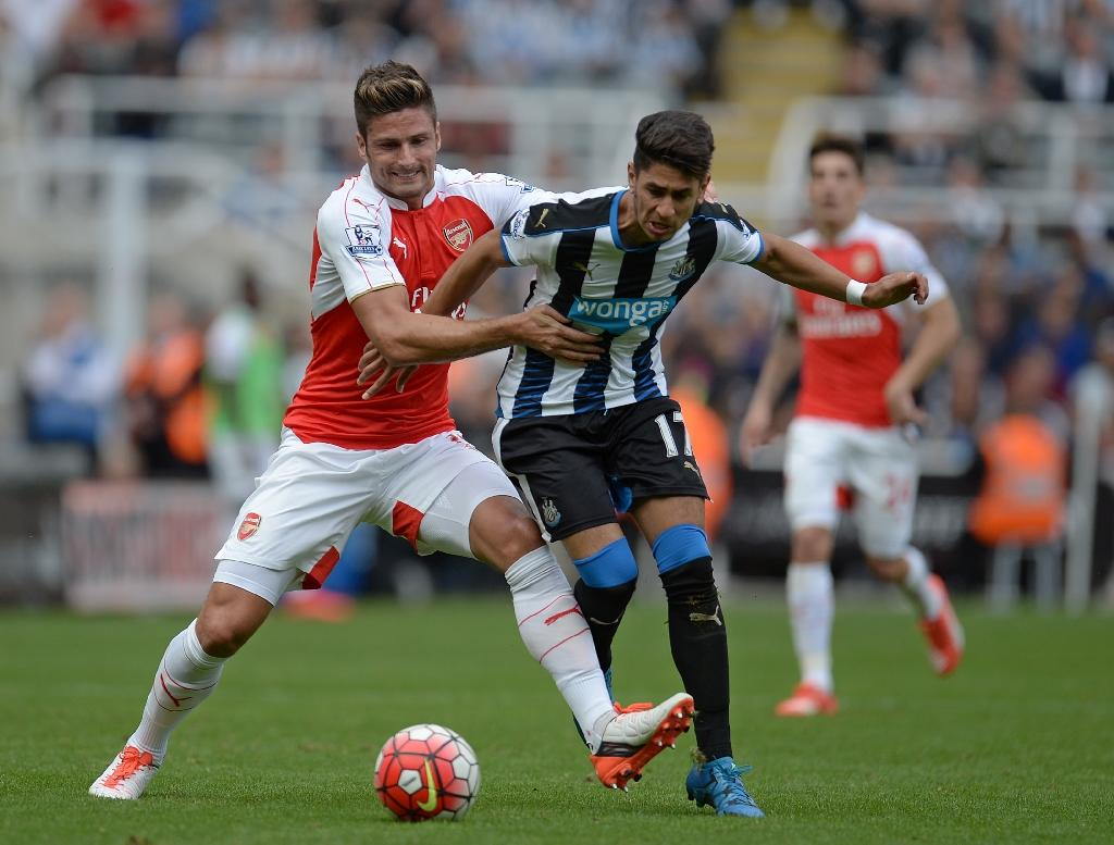 Coloccini own goal helps Arsenal shatter spirited Newcastle