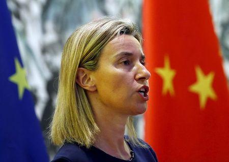 EU's top diplomat says destabilized Russia in nobody's interest