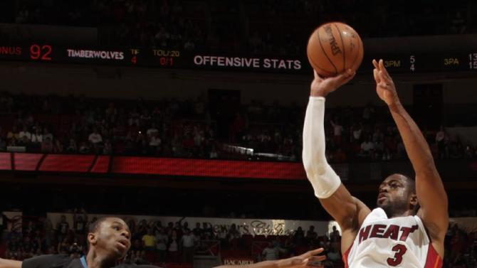 Heat snap 2-game slide, top Timberwolves 102-92