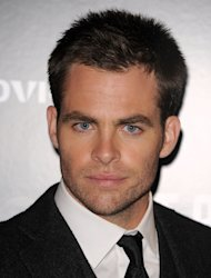Chris Pine worked with Benedict Cumberbatch on the Star Trek sequel