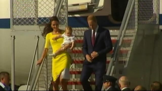 Prince George Makes First Appearance in Sidney