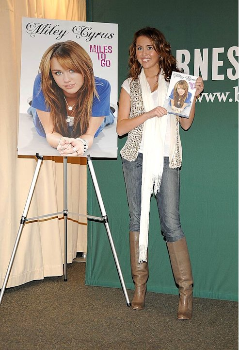 Cyrus Miley Book Signing