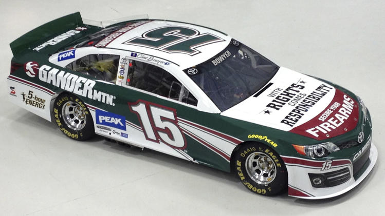 Bowyer lands Gander Mountain sponsorship