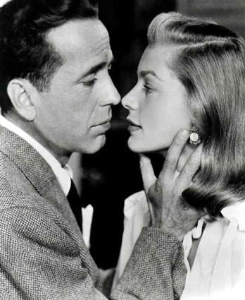 7. Humphrey Bogart and Lauren Bacall