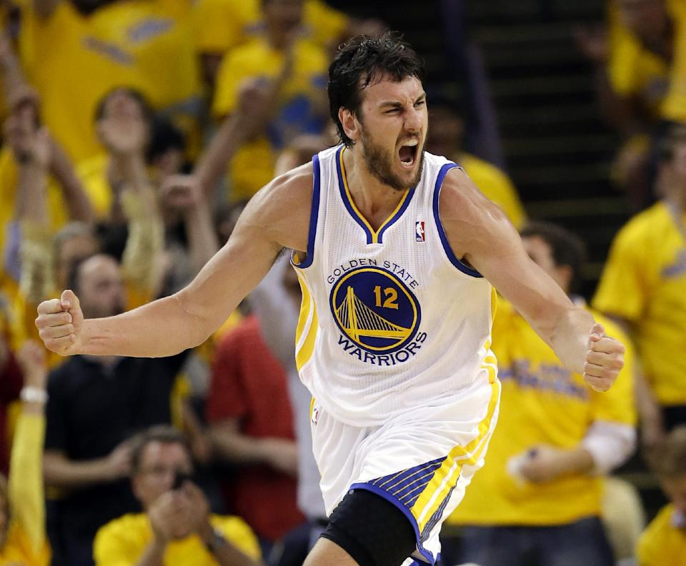 Warriors center Andrew Bogut '100 percent' healthy