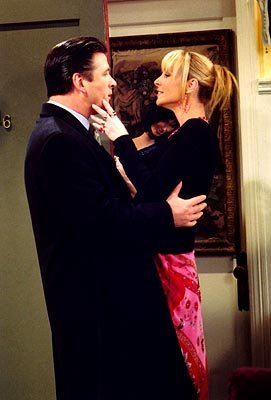 Alec Baldwin and Lisa Kudrow in NBC's Friends