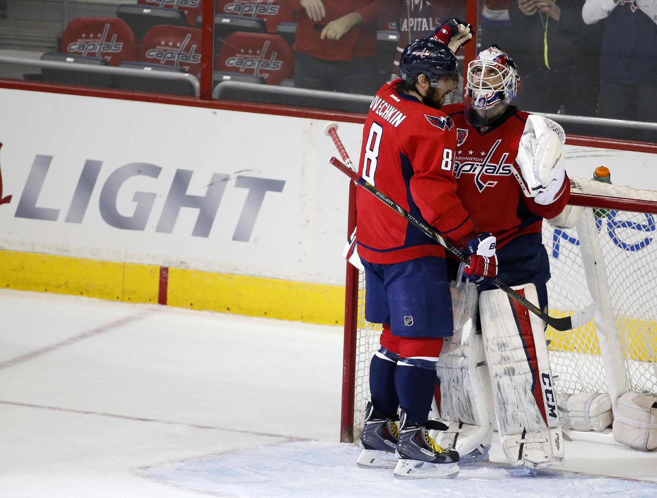 Ovi as Abe: Ovechkin's goals bring Lincoln back for Capitals