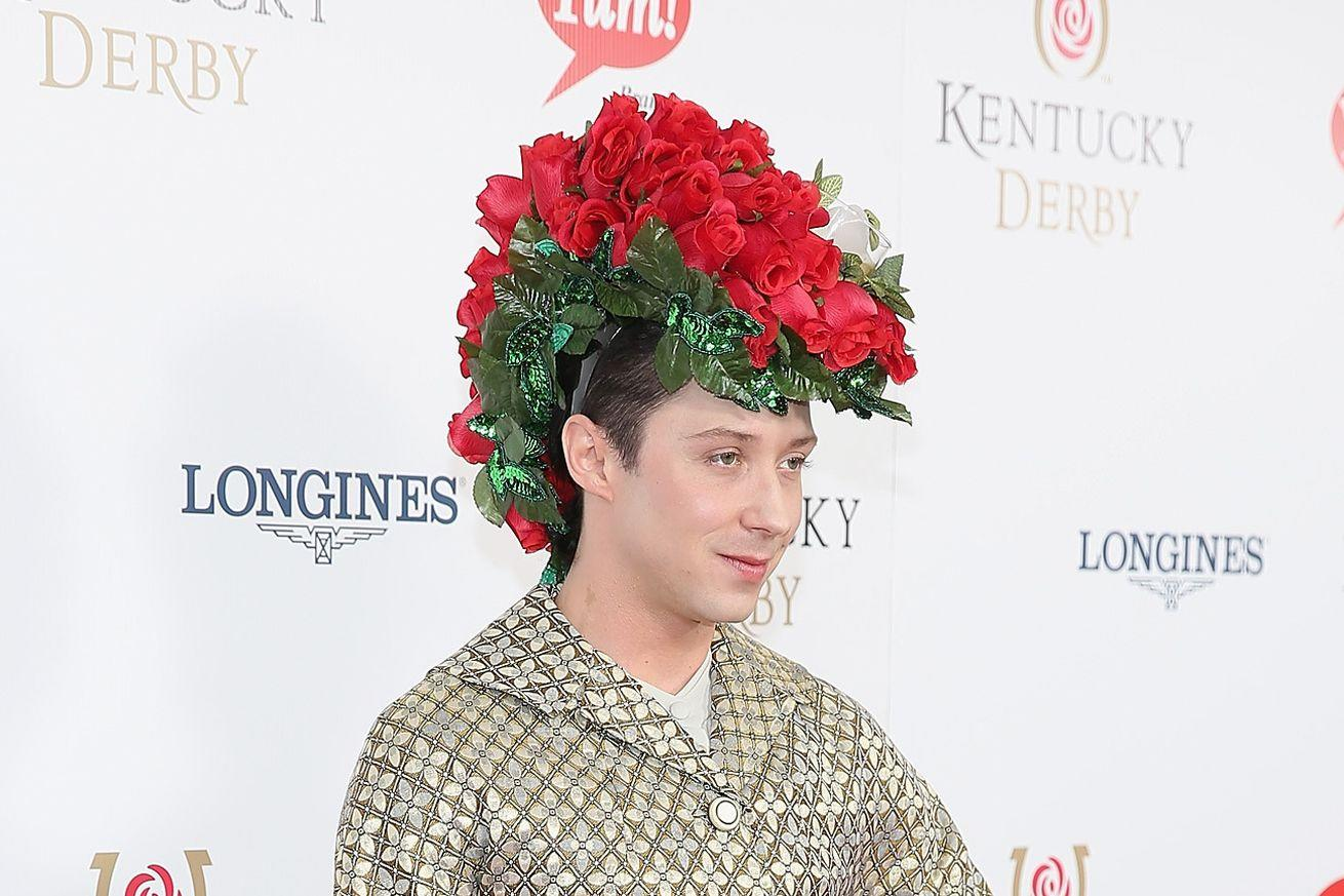 The internet will control Johnny Weir's Kentucky Derby brooch with a hashtag