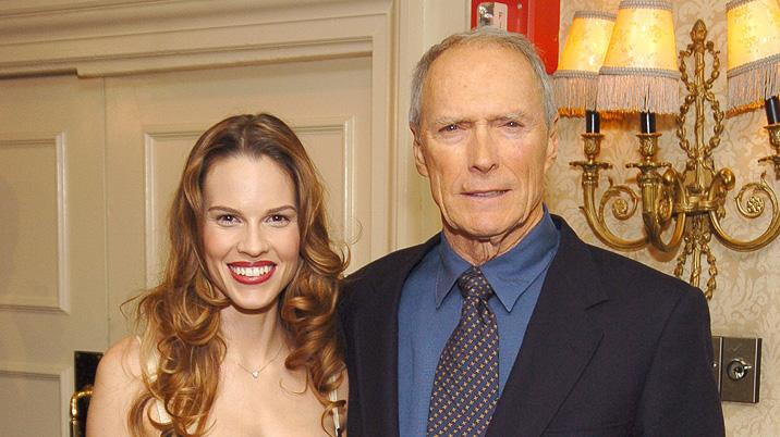 Clint Eastwood Hilary Swank 2005